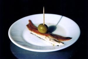 Anchovies Canapés